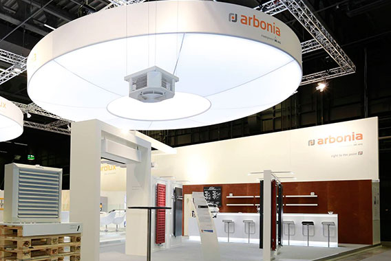 Arbonia Events Review Swissbau Basel 2016